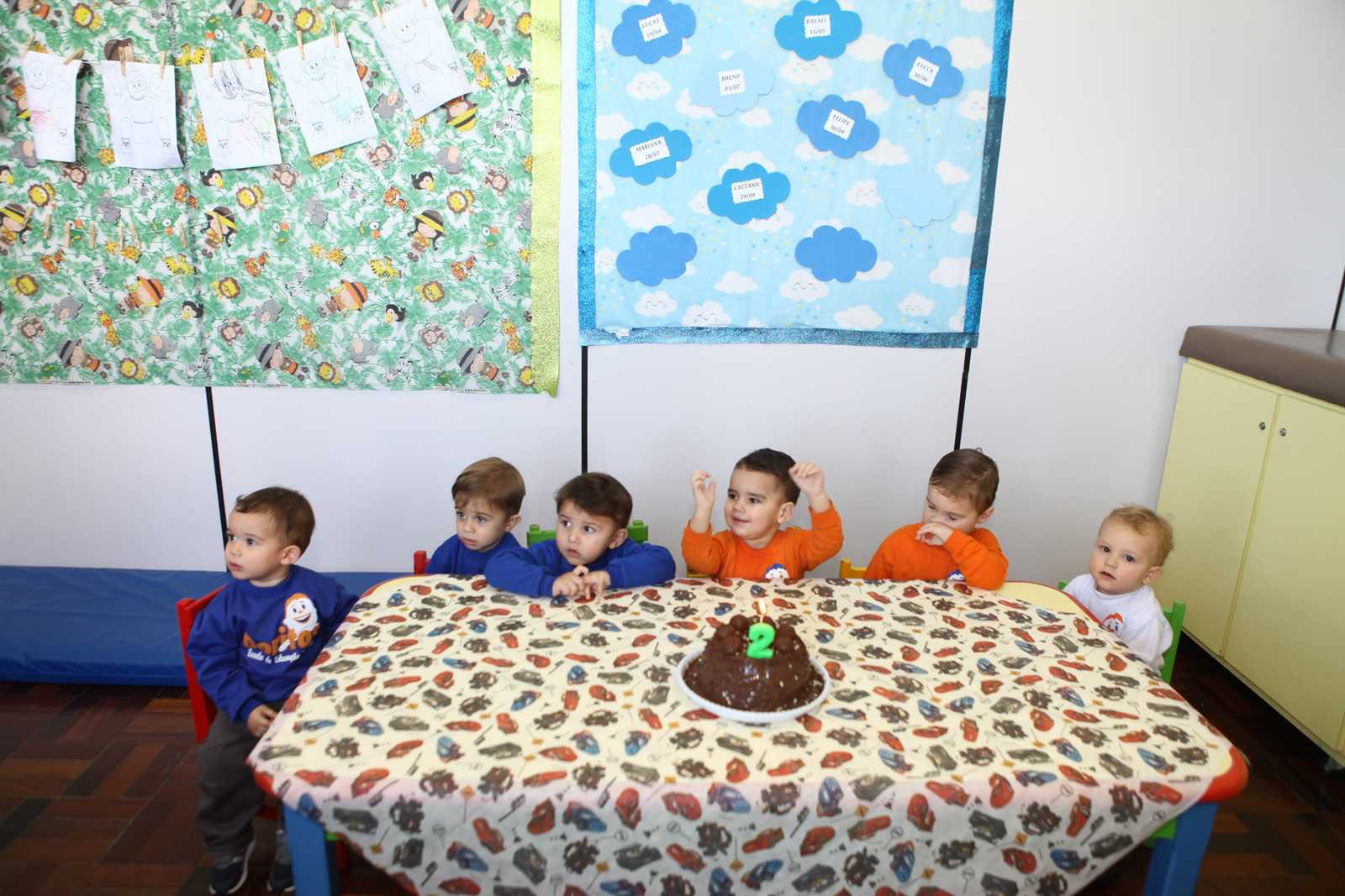 Aniversariantes de Junho - Escola Doritos