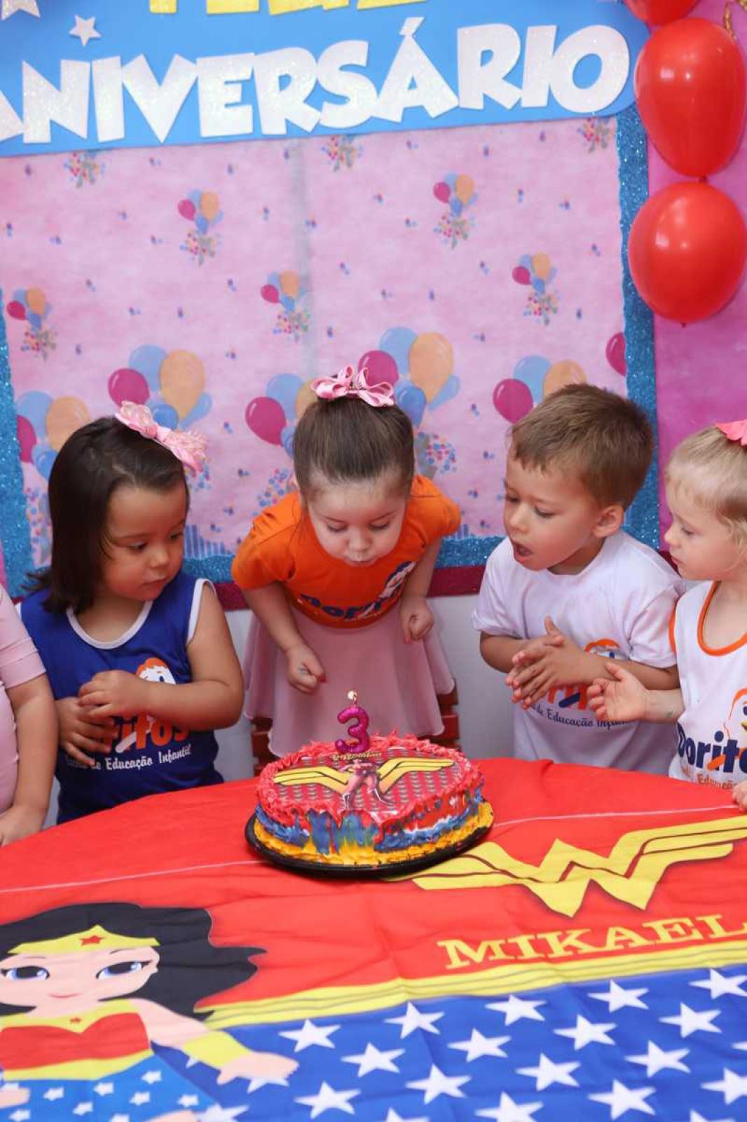 Aniversariantes de Novembro - Escola Doritos