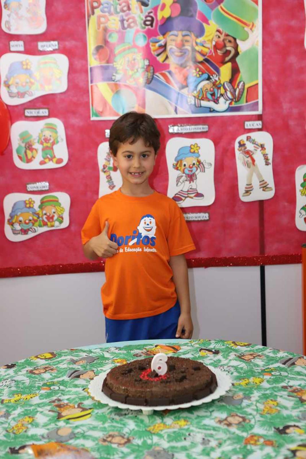 Aniversariantes de Agosto - Escola Doritos