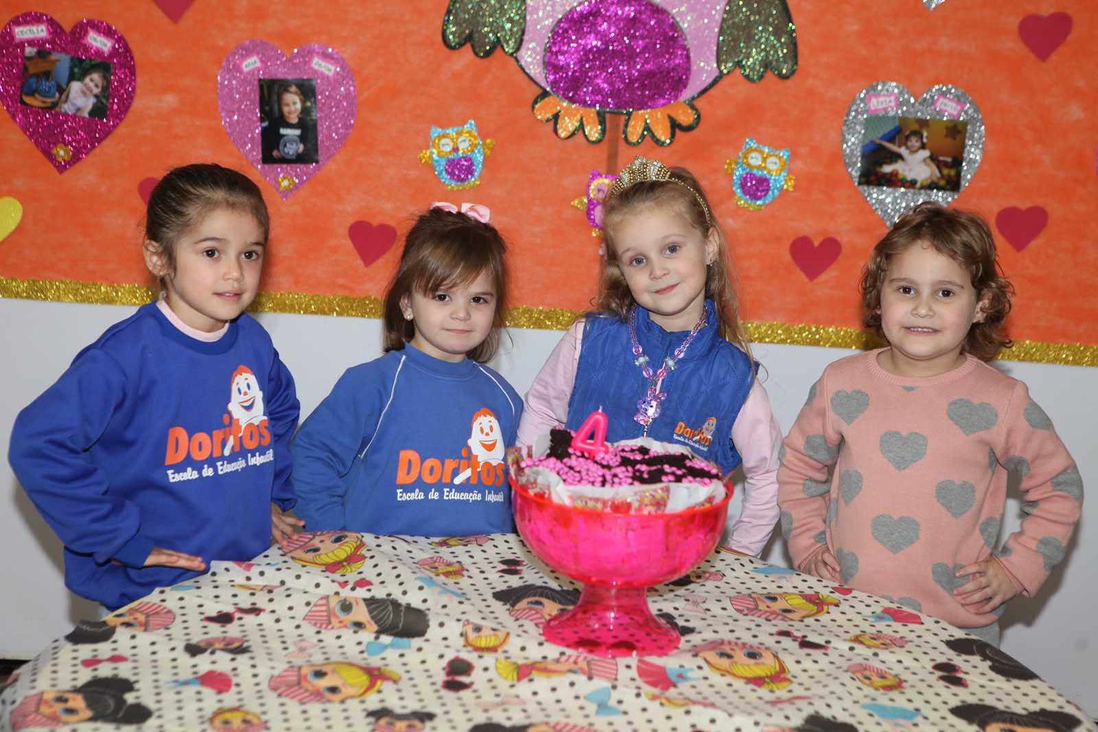 Aniversariantes de Maio - Escola Doritos