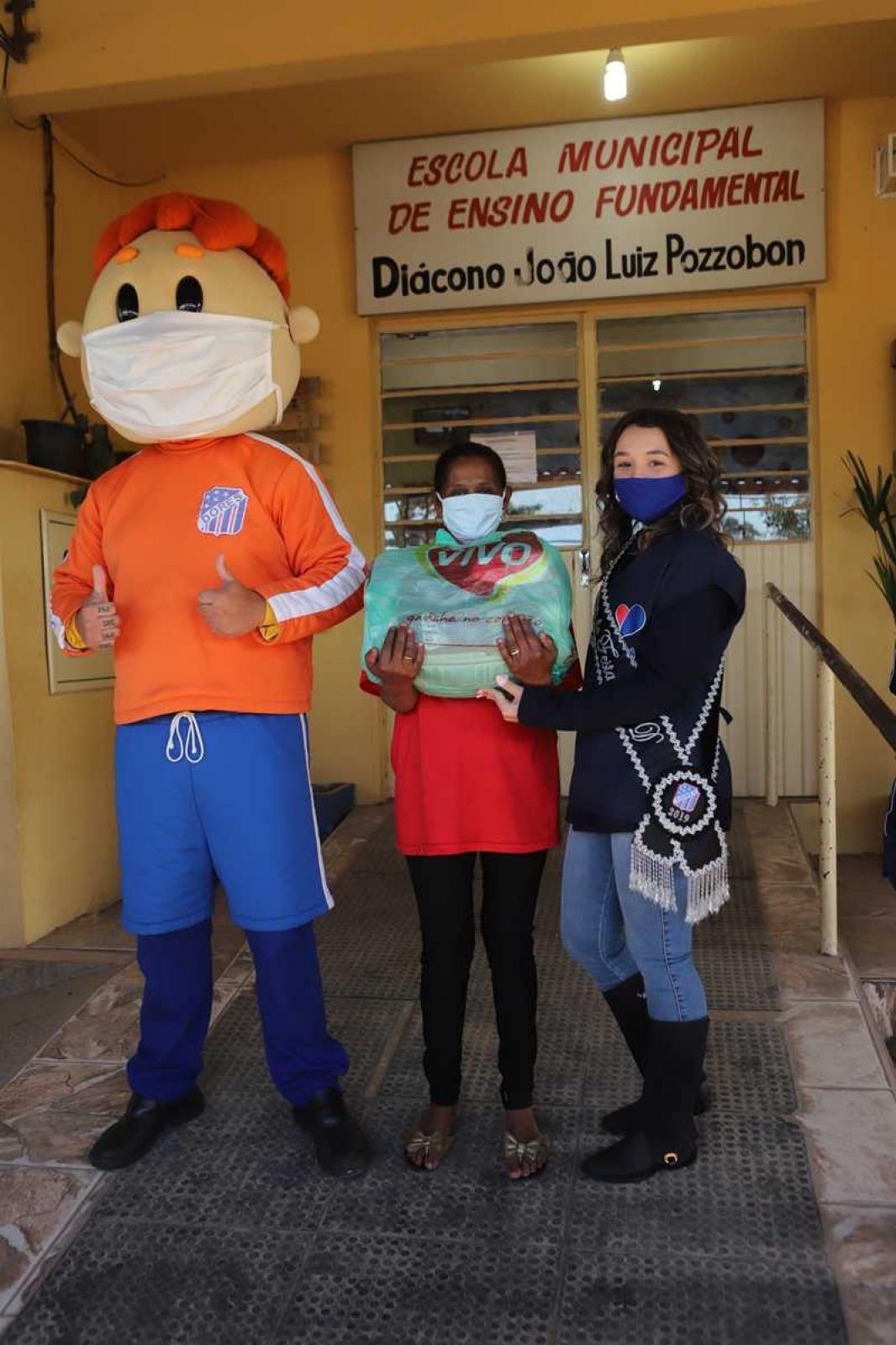 Dores em Ação Social - Diácono João Luiz Pozzobon