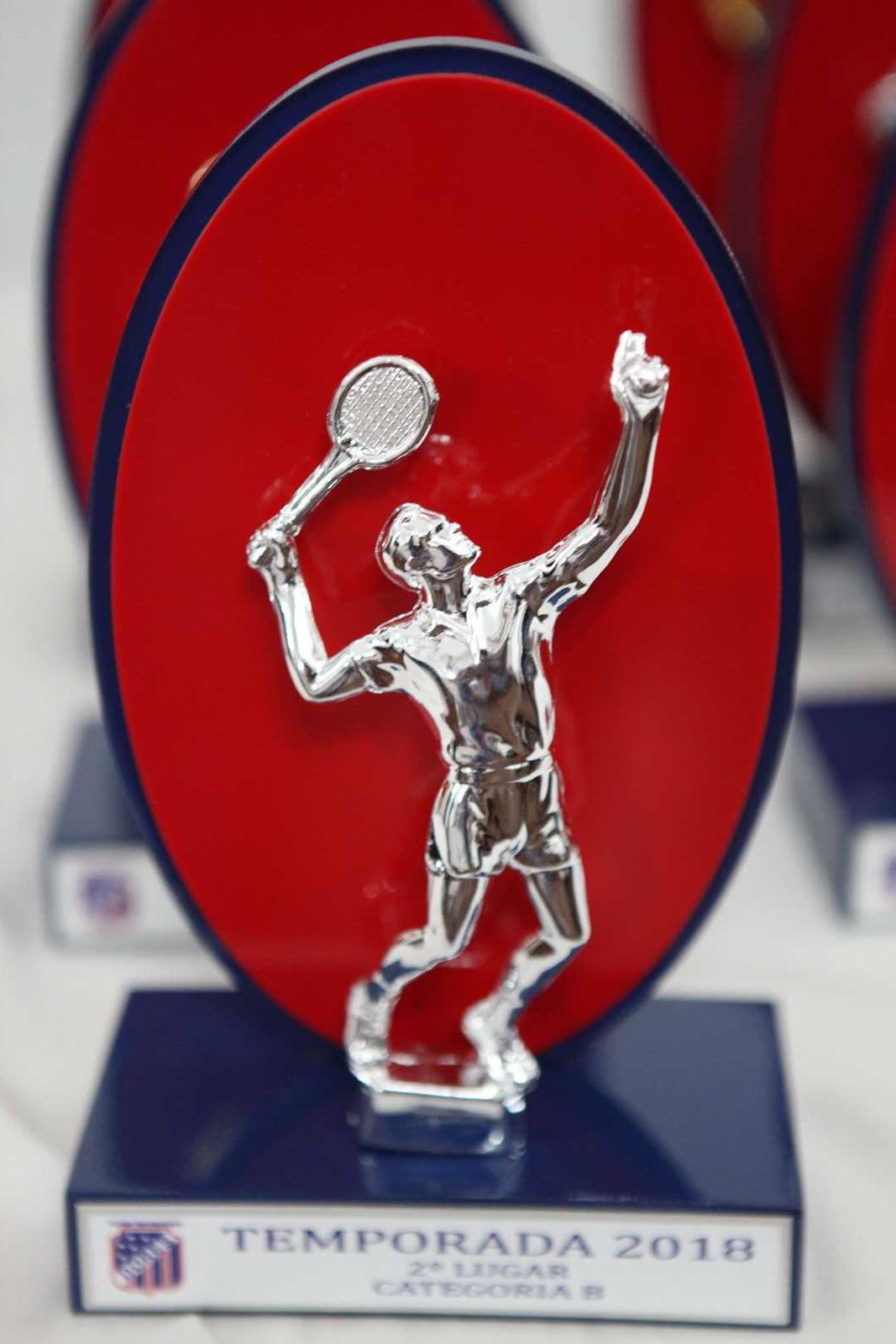 Confraternização de encerramento de temporada 2018 de tênis