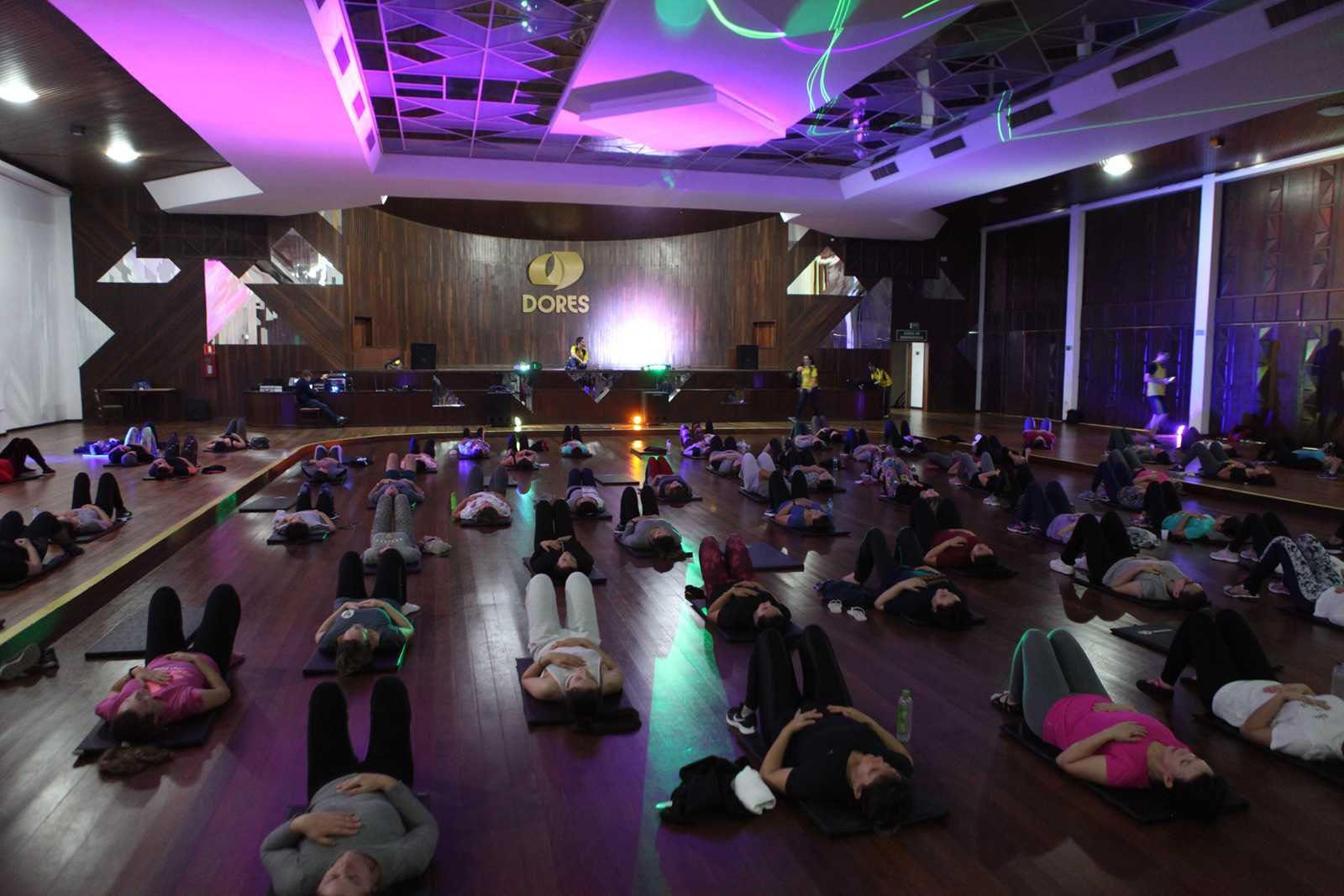 Aula Master de Pilates e Yoga