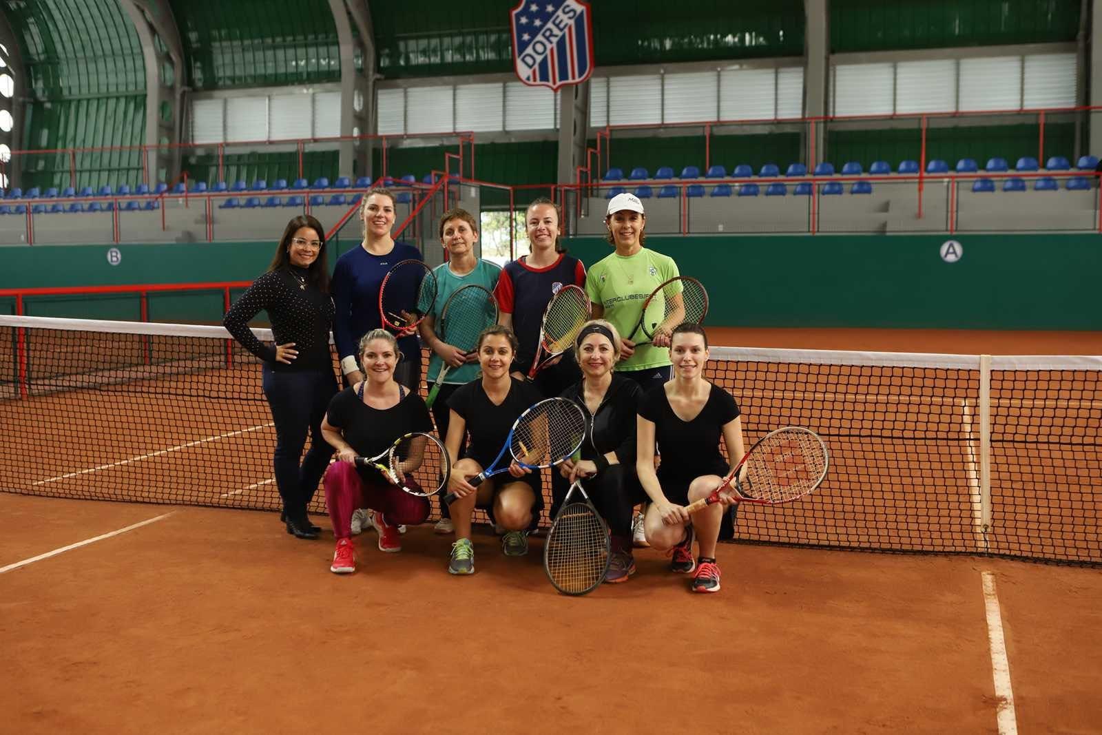 Torneio de Duplas - Inauguração do Ginásio de Tênis: confira os atletas premiados