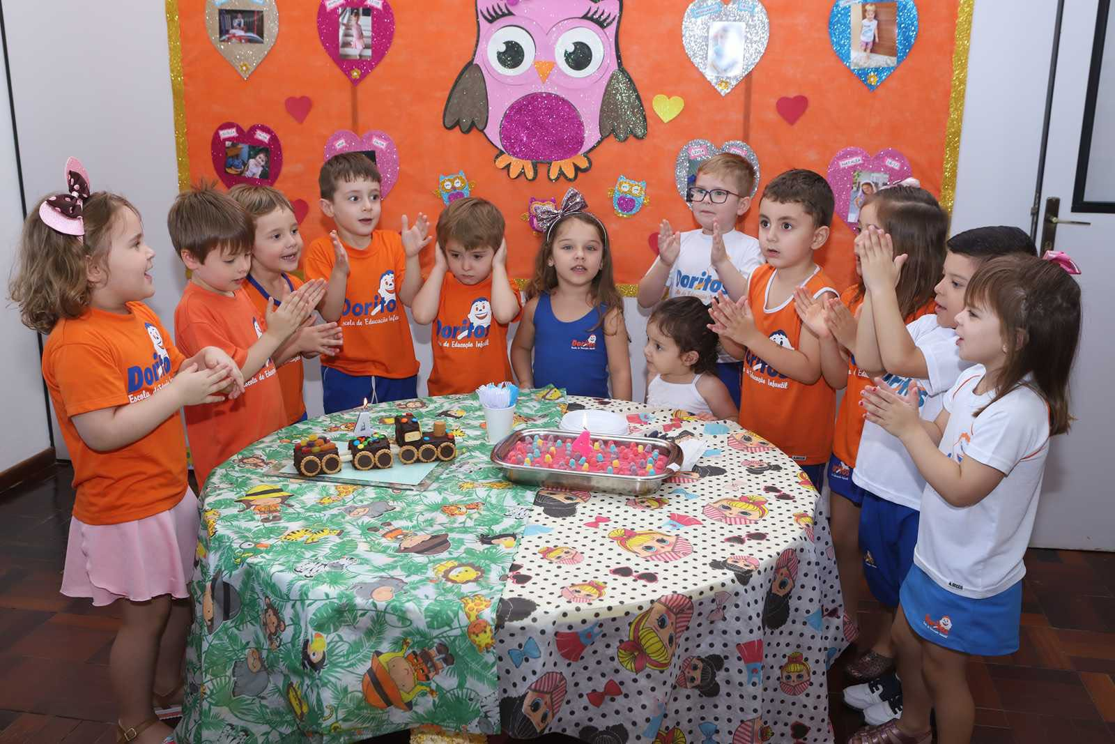 Aniversariantes de Dezembro - Escola Doritos