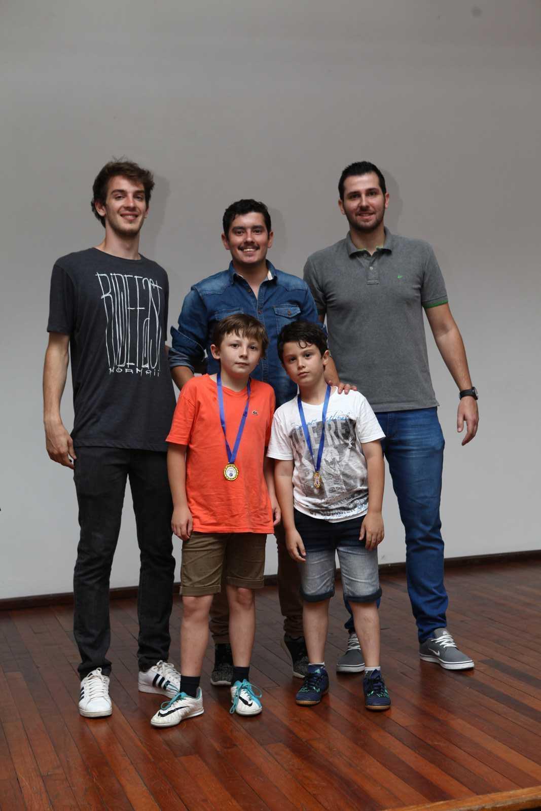 Jantar de encerramento do Futsal 2018