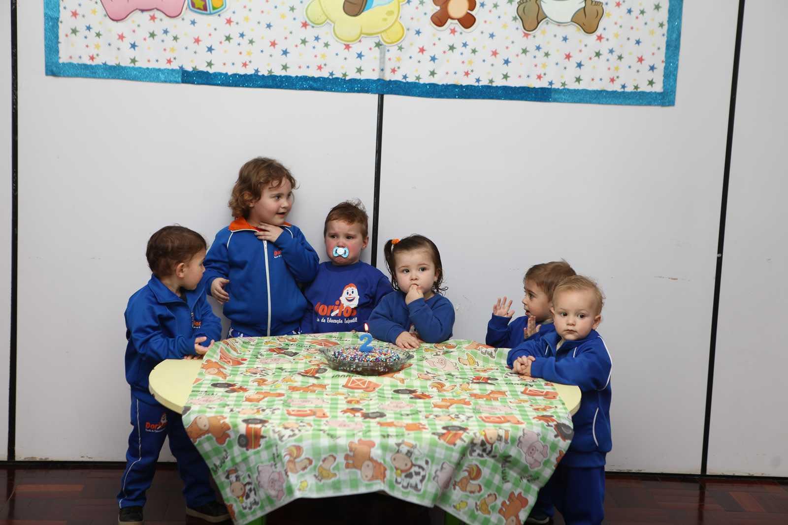 Aniversariantes de Julho - Escola Doritos