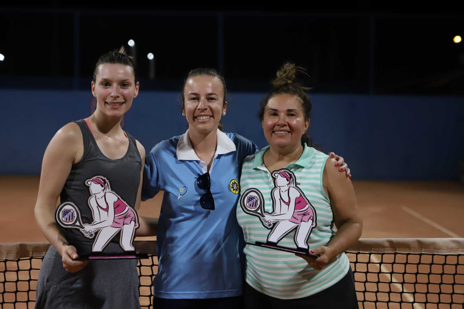 Torneio Feminino de Tênis 2019: confira as atletas premiadas