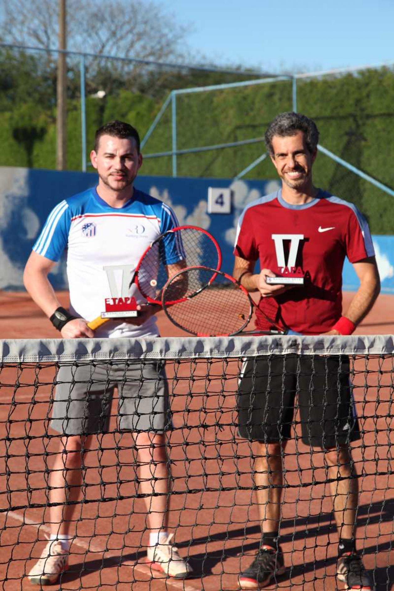Categoria C: Glauber Ortiz (vice-campeão) e Eric Brandão (campeão)