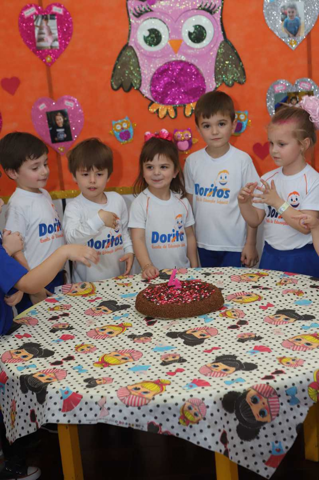 Aniversariantes de Outubro - Escola Doritos