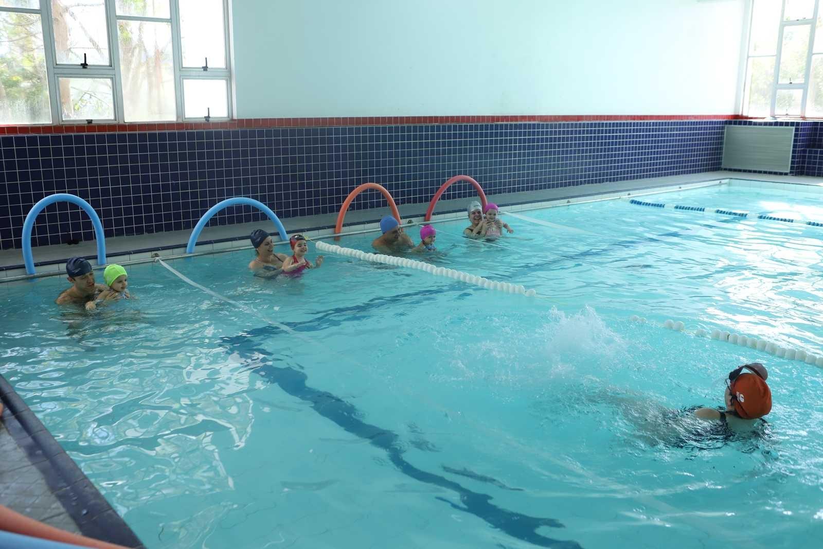 Aulas de natação Infantil