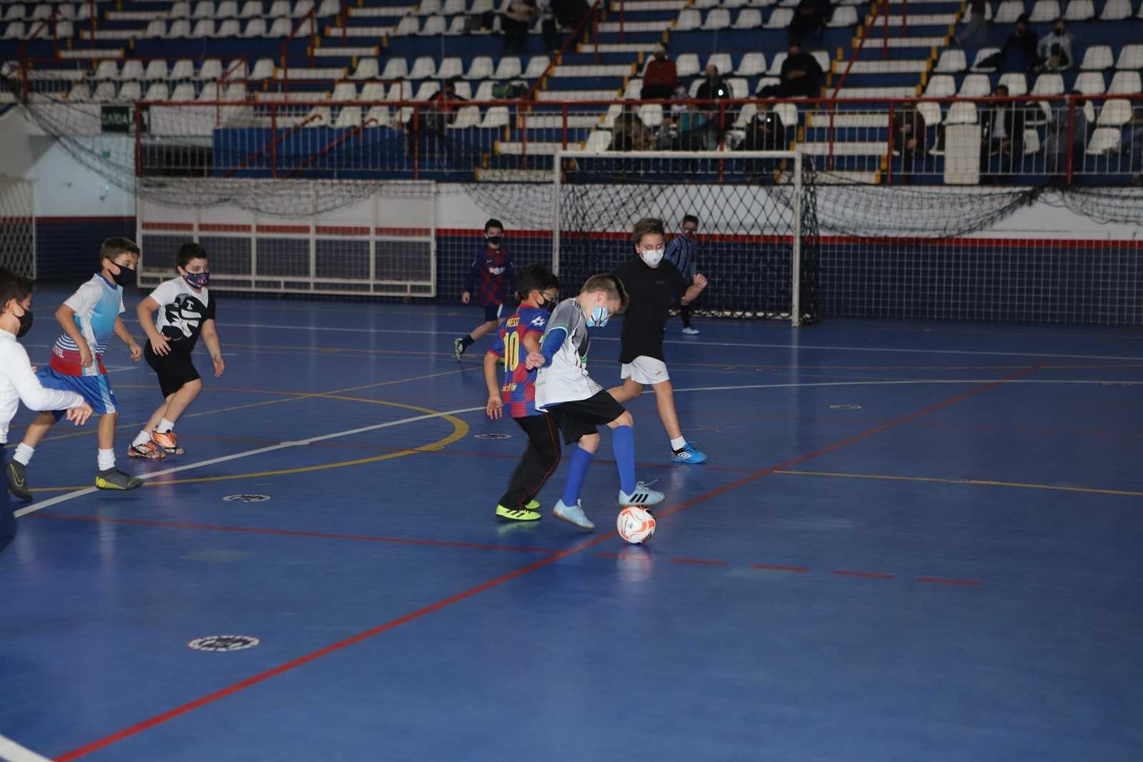 Aula de Futsal