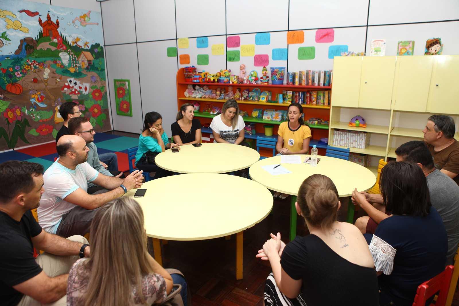 Reunião dos Pais - Escola Doritos