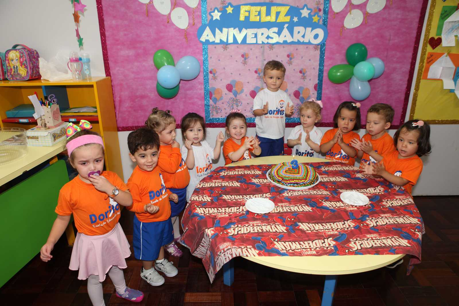 Aniversariantes de Abril - Escola Doritos