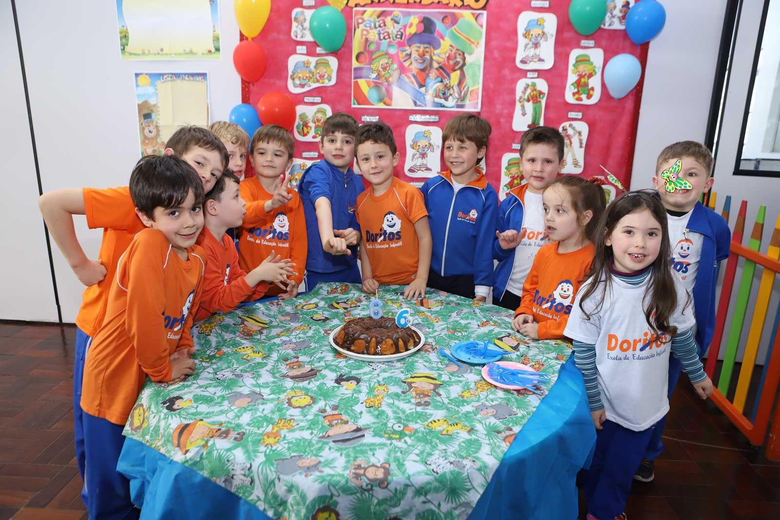Aniversariantes de Setembro - Escola Doritos