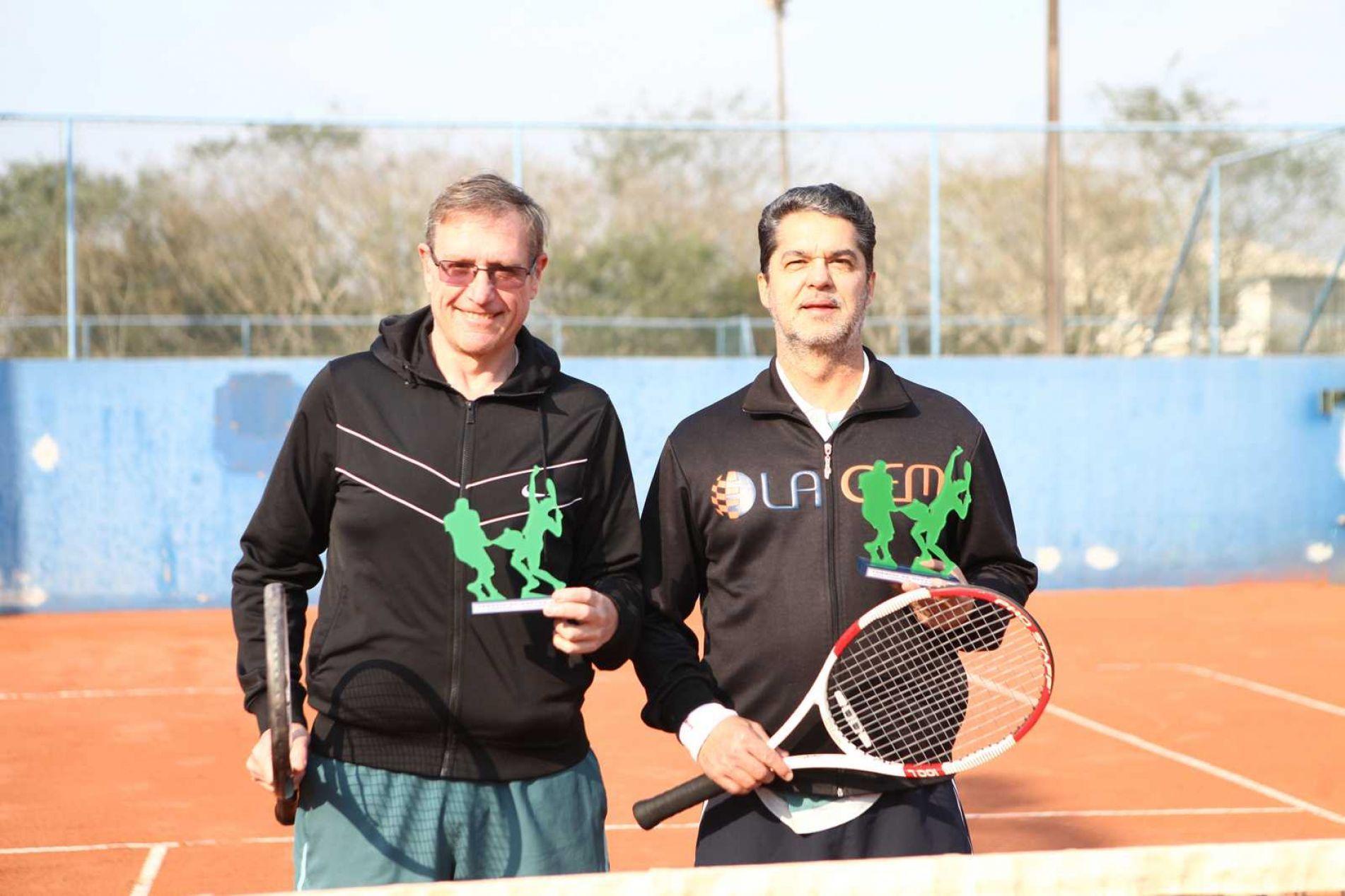 Categoria B - Vice-Campeões: Antonio Schmitz/ Alexandre Gelain