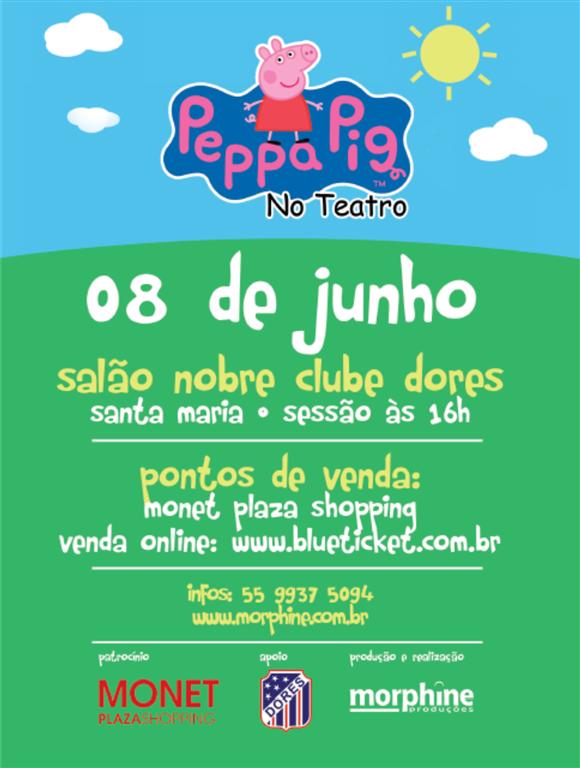 Peppa Pig no Teatro