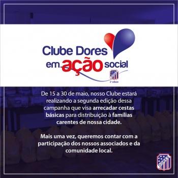 Clube Dores em Ação Social: 2ª Edição