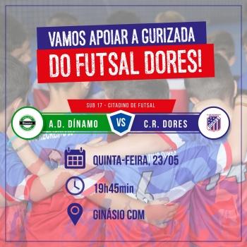Dores Futsal em quadra!