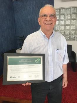 Certificado de créditos de carbono