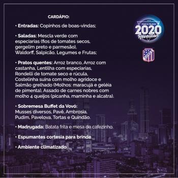 Réveillon 2020: últimos convites