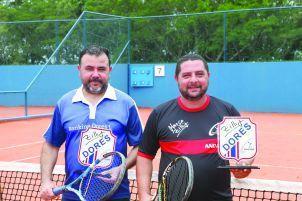 Categoria B: Vice-campeões Jairton Silva e  Juliano Costa (Dores)