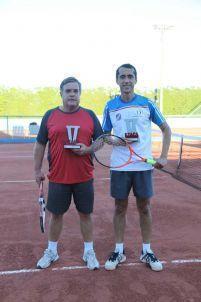 Categoria Sênior C: Leonel Bonotto (vice-campeão) e Marcelo Silva (campeão)
