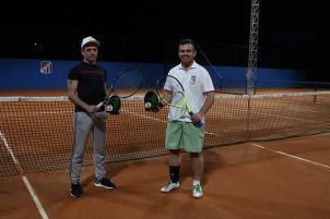Categoria D: Campeão Fabiano Seeger (à esquerda) e vice Ricardo Guerra (à direita)