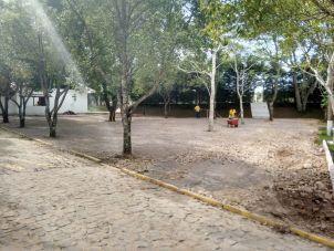 Estacionamento do refúgio dos boleiros