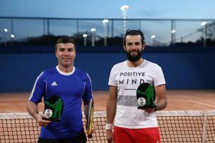 Categoria C: Campeão Eleandro Sangoi (à esquerda) e vice Fernando Bicalho (à esquerda)