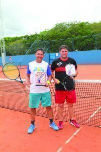 Categoria B: Campeões Nasser Yasin (ATC/Dores) e  Luciano Silveira (ATC)