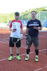 Categoria B: Marcos Santos (vice-campeão) e Omar Dri (campeão)