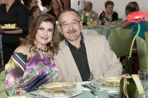 Marta Miolo e Luiz Antonio Oliveira