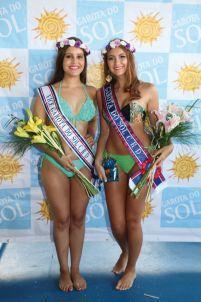 As vitoriosas do juvenil: Rafaela Ribeiro Nagel (dir.), em primeiro, e Erica da Silva (esq.), em segundo.