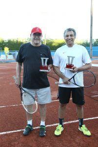 Categoria Sênior B: Augusto Sachs (vice-campeão) e Luis Aquiles Medeiros (campeão)